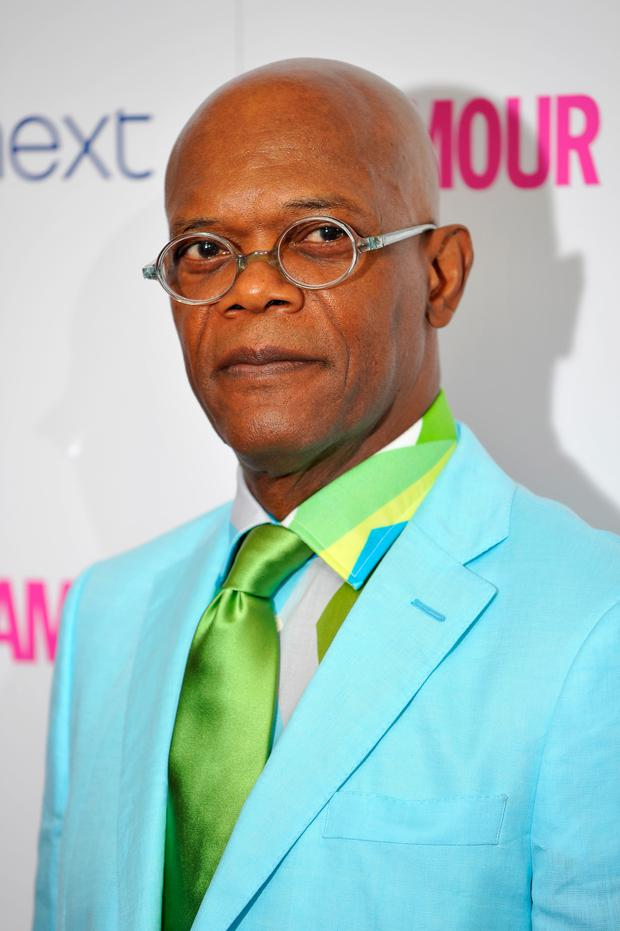 Samuel L Jackson advocates men checking themselves regularly for signs of cancer