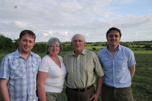 John, Rosarii, Robbie and David form the Fowlerstown partnership