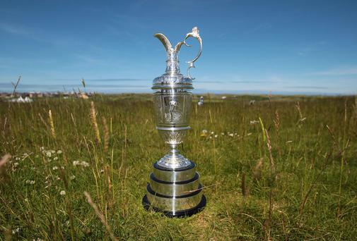 The Claret Jug at Royal Portrush