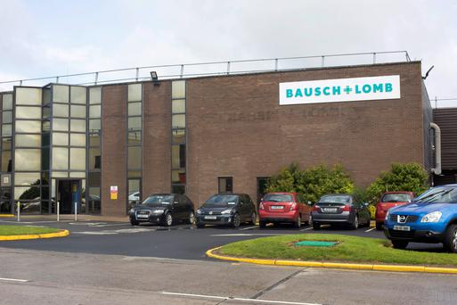 Bausch and Lomb in Waterford City. Photo: Mark Condren