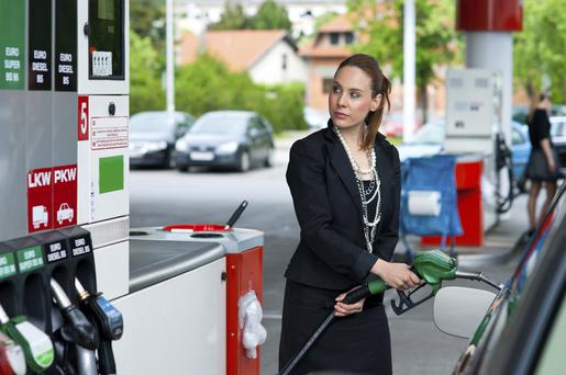 Irish motorists don't follow any unwritten rules when entering/leaving petrol stations. Photo: Getty Images.