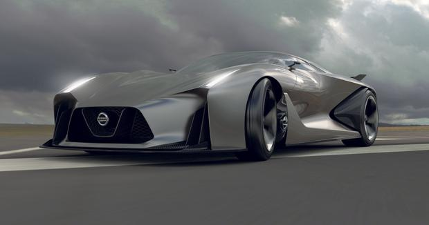 What a Nissan performance car of the future could look like.