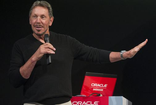 Larry Ellison, chief executive officer at Oracle Corp