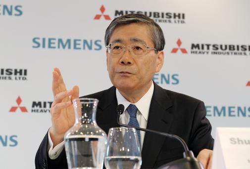 Shunichi Miyanaga, CEO of Mitsubishi Heavy Industries Ltd.
