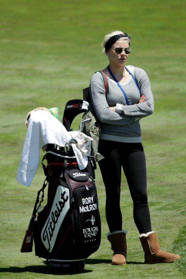 Holly at Pebble Beach in 2010