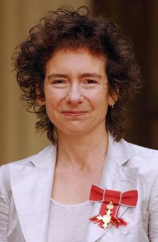 Jeanette Winterson has incurred the wrath of animal lovers and vegetarians after posting photographs on social media of a rabbit she trapped, skinned and cooked. Photo: Fiona Hanson/PA Wire