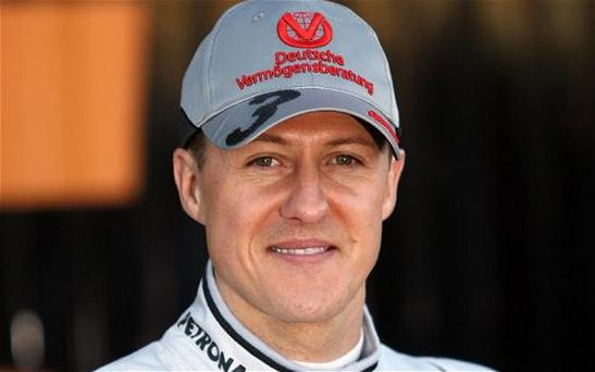 Slow recovery: Seven-time world champion Michael Schumacher has been in hospital since December 29