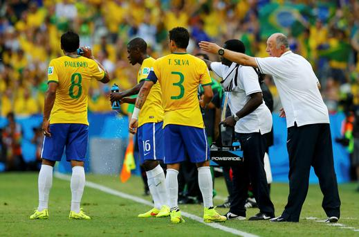 Does Brazilian coach Luiz Felipe Scolari have the weakest squad ever to appear at a World Cup Finals?