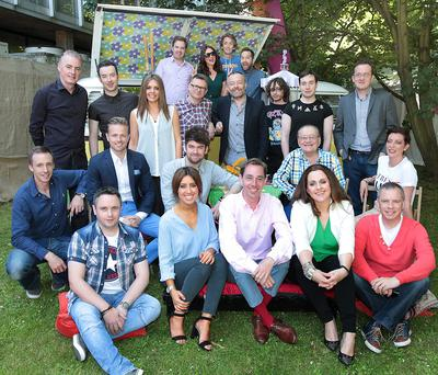 2FM presenters pictured at the RTE 2fm summer launch