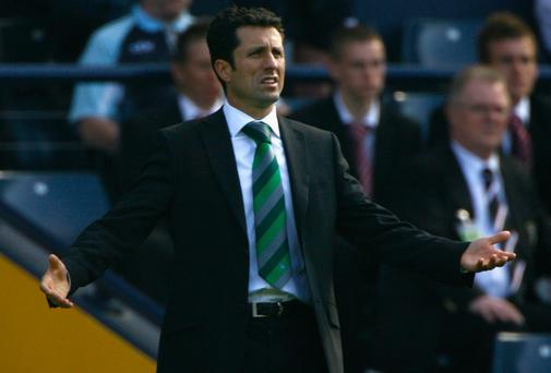 John Collins has been appointed as assistant to new Celtic boss Ronny Deila. Photo: Jeff J Mitchell/Getty Images