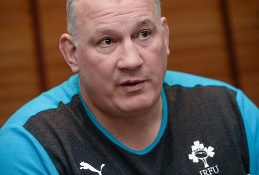 Head coach Mike Ruddock will want his Ireland U-20 side to grab a third-place finish and end his tenure on a high. Photo: David Maher / SPORTSFILE