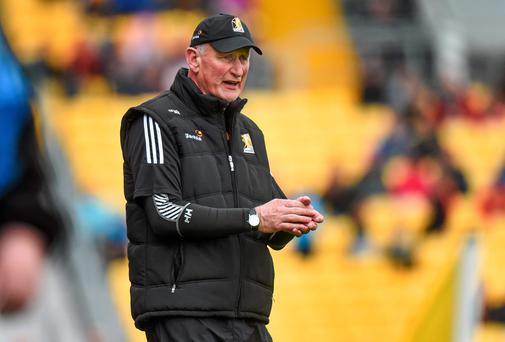 7 June 2014; Kilkenny manager Brian Cody. Leinster GAA Hurling Senior Championship, Quarter-Final, Kilkenny v Offaly, Nowlan Park, Kilkenny. Picture credit: Ray McManus / SPORTSFILE