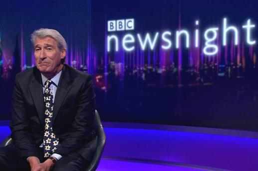 Jeremy Paxman leaves Newsnight after 25 years