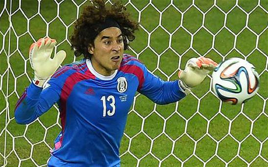Mexico goalkeeper Guillermo Ochoa