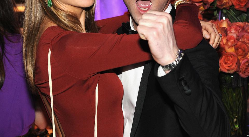 Adam Levine And Victoria's Secret Model Behati Prinsloo