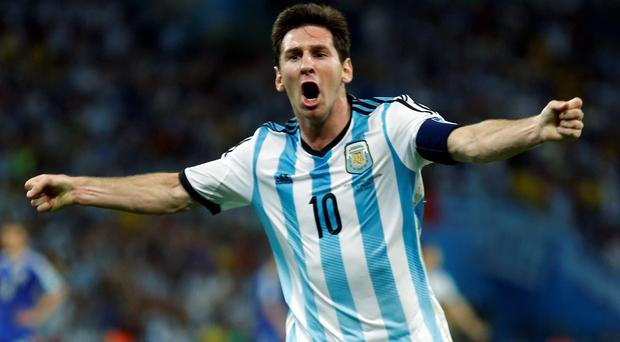 Argentina's Lionel Messi has opened his World Cup account and will be hoping to add to his tally against Iran