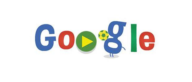 Today's World Cup related Google doodle. June 19, 2014.
