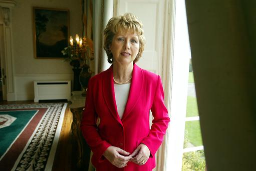 Former President Mary McAleese. Mark Condren