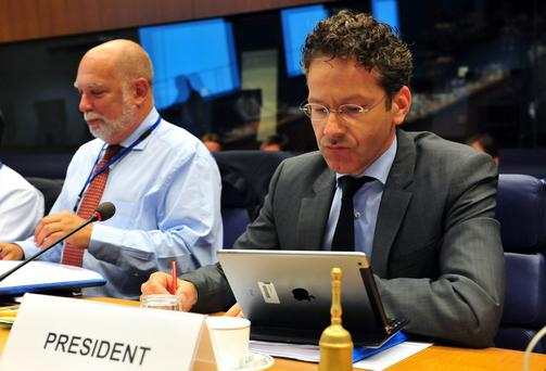 Dutch Finance Minister and Eurozone President Jeroen Dijsselbloem