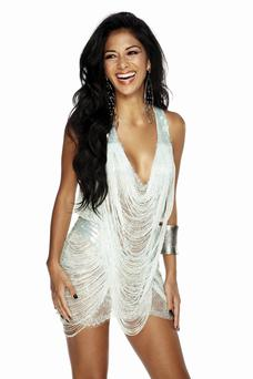 X FACTOR on ITV1 and ITV2 Picture Shows: NICOLE SCHERZINGER Source: Digital