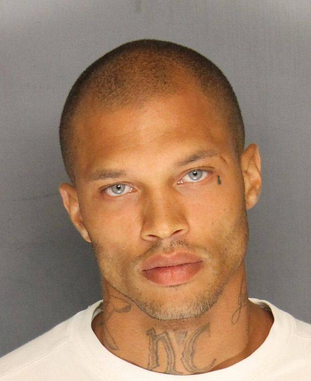 The image of Jeremy Meeks that went viral.