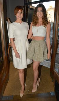 Gillian Quinn and Aisling Quinn at the opening of Fiorentina Cocktail Bar & Restaurant