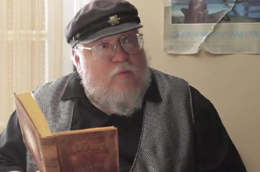 Game of Thrones author George RR Martin appears in Gay of Thrones spoof video