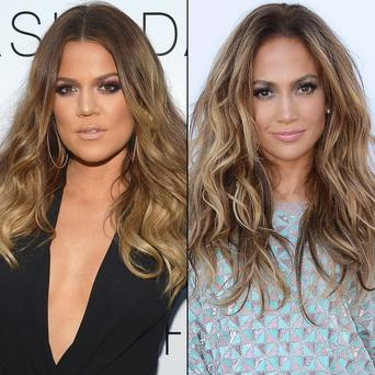Khloe and J-Lo
