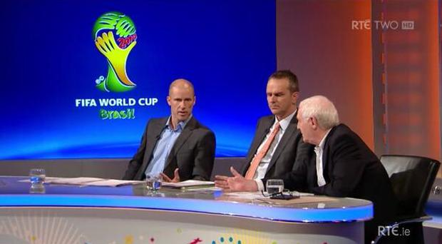 Kenny Cunningham on RTE's World Cup coverage