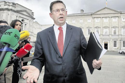Éamon Ó Cuív has claimed that farmers who don't adhere to a minimum stocking rate on their commonage ground will automatically disqualify themselves from their Single Farm Payments