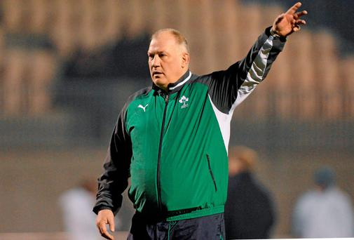 Ireland head coach Mike Ruddock. Picture credit: Ramsey Cardy / SPORTSFILE