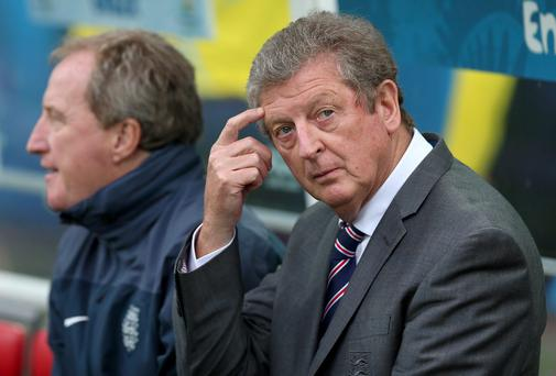 FA chairman Greg Dyke has assured Roy Hodgson his future as England manager is not in jeopardy. Photo: Nick Potts/PA Wire