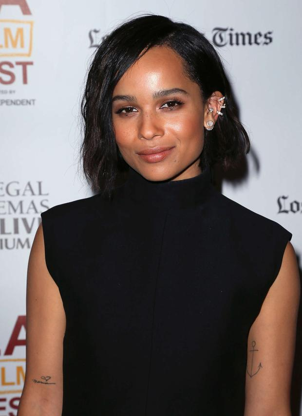 Zoe Kravitz at The Road Within Premiere, Los Angeles