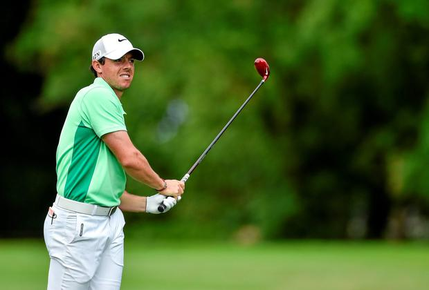 Rory McIlroy: 'It's the first time in nine years I haven't been in a relationship. I'm rediscovering who I am, on my own'. Photo: Diarmuid Greene / SPORTSFILE
