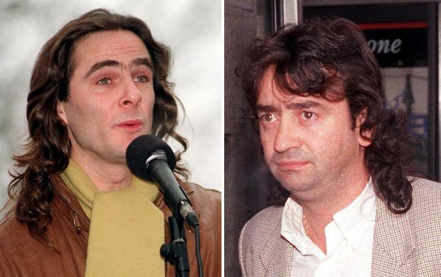 Paul Hill (left) and Gerry Conlon, two members of the Guildford Four