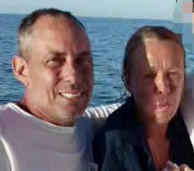 Sean McGovern, 50, and Mellisa Morris, 52 were rescued off the Florida coast