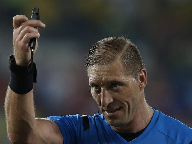 Néstor Pitana: Argentinian referee Nestor Pitana needs to lose only about four hair-strands before he takes Sir Bobby Charlton's crown as having the best (worst) comb over.