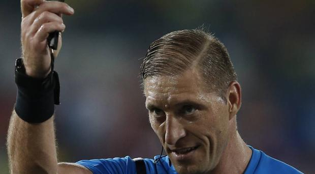 Nestor Pitana: Argentinian referee Nestor Pitana needs to lose only about four hair-strands before he takes Sir Bobby Charlton's crown as having the best (worst) comb over.