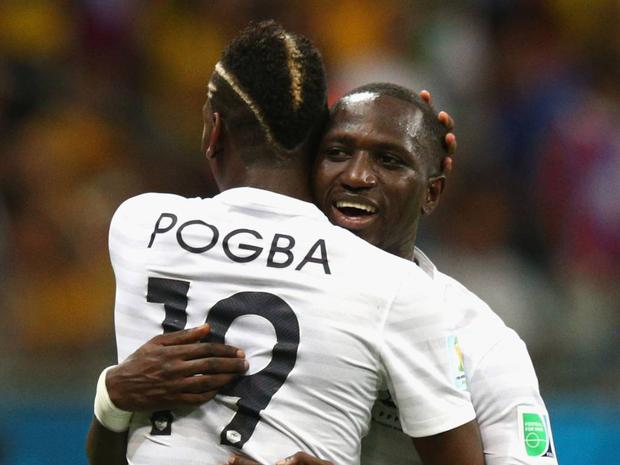 Paul Pogba: The coveted French midfielder has gone a bit over the top with the highlighter. Not content with adding a bit of colour to his mohican, Pogba has also added blond streaks to the side of his head and shaved various parts.