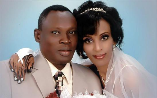 Meriam Ibrahim, pictured with her husband Daniel Wani, has been released from prison after six months