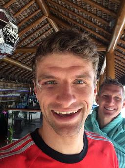 Thomas Muller tweeted this image today