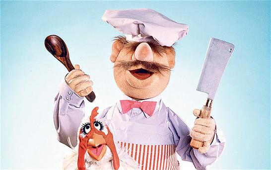The Swedish Chef from The Muppets