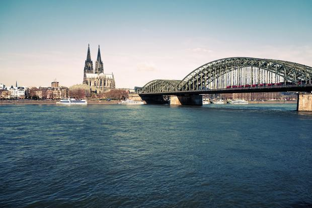The city of Cologne near where the incident ended