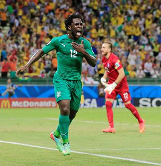 Wilfried Bony could become Luis Suarez's replacement at Liverpool