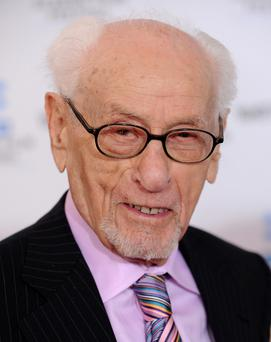 Actor Eli Wallach, known for his work in