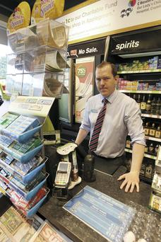 Craig Sheridan, Supervisor, Applegreen Mount Merrion which was unsuccesfully robbed last night