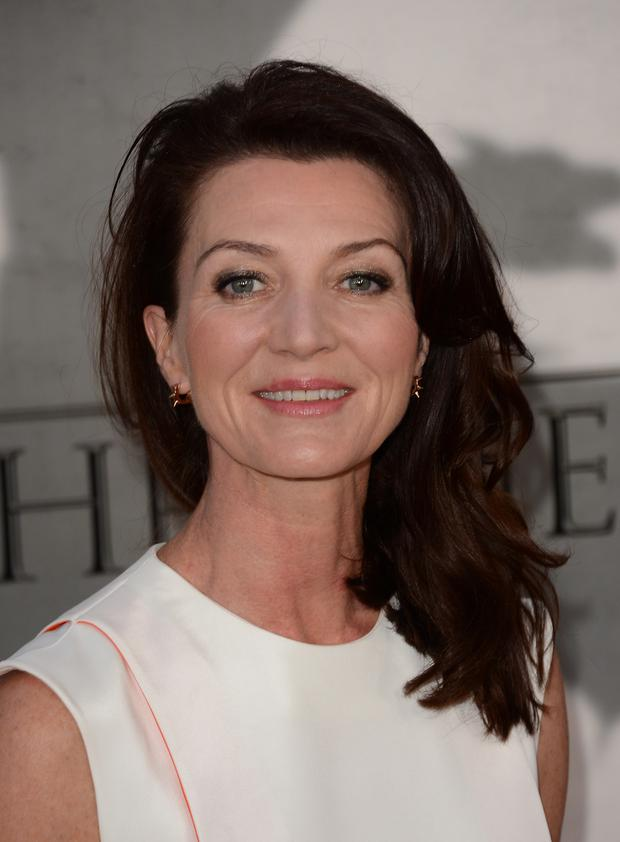 HOLLYWOOD, CA - MARCH 18: Actress Michelle Fairley arrives at the premiere of HBO's 'Game Of Thrones' Season 3 at TCL Chinese Theatre on March 18, 2013 in Hollywood, California. (Photo by Jason Merritt/Getty Images)