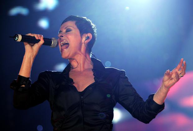 Lisa Stansfield performs on stage at