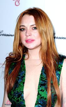 Lindsay Lohan who is to make her stage debut in London's West End in a play about the movie business.