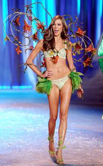 Karlie at the 2012 Victoria's Secret Fashion Show